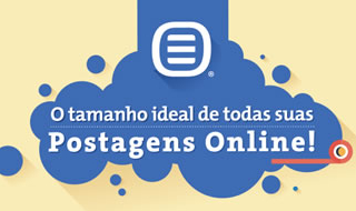 O tamanho ideal de publicações online