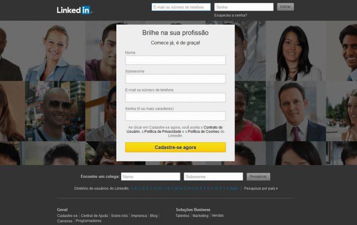 Como criar um perfil de sucesso no LinkedIn