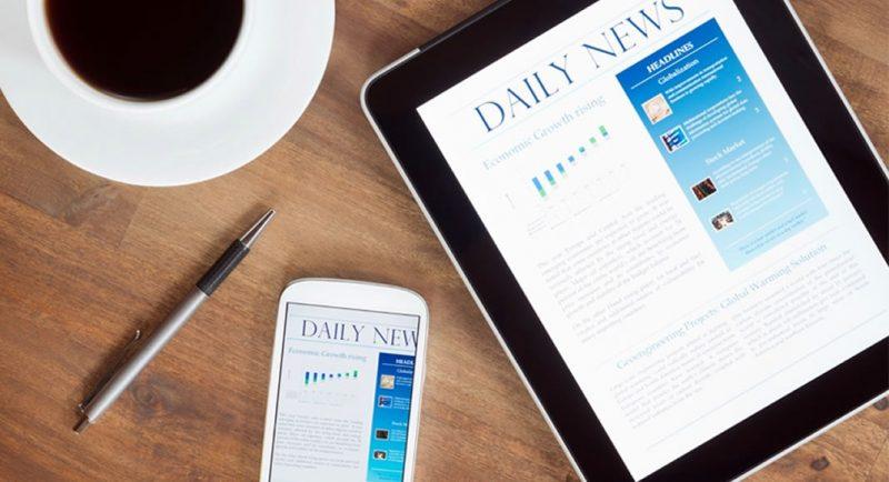 Estrutura do conteúdo jornalístico na Internet