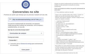 Como criar um código de rastreamento de conversões no Facebook