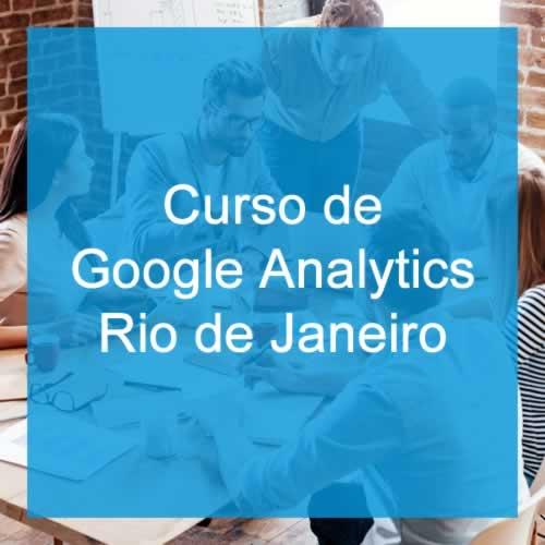 Curso de Google Analytics no Rio de Janeiro