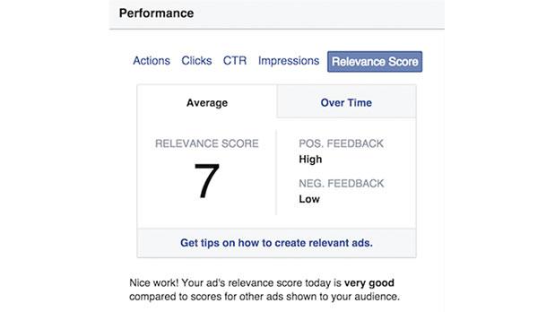 Veja o que é e como funciona o Índice de Relevância do Facebook Ads