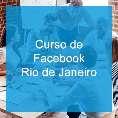 Curso de Facebook Marketing no Rio de Janeiro