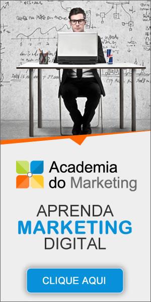 Clique aqui e conheça detalhes do Curso de Marketing Digital oferecido pela equipe da Academia do Marketing