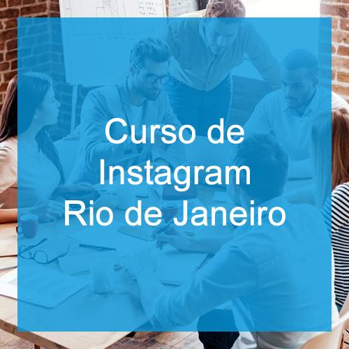 Curso de Instagram no Rio de Janeiro